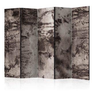 Paraván Old Metal Dekorhome 225x172 cm (5-dílný)