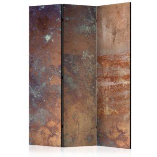 Paraván Rusty Plate Dekorhome 135x172 cm (3-dílný)