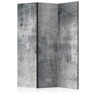 Paraván Fresh Concrete Dekorhome 135x172 cm (3-dílný)
