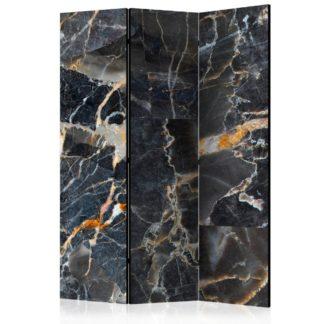 Paraván Black Marble Dekorhome 135x172 cm (3-dílný)