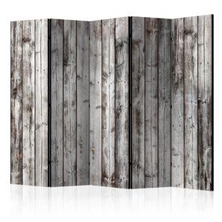 Paraván Raw Boards Dekorhome 225x172 cm (5-dílný)