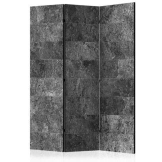 Paraván Shade of Grey Dekorhome 135x172 cm (3-dílný)