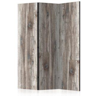 Paraván Stylish Wood Dekorhome 135x172 cm (3-dílný)