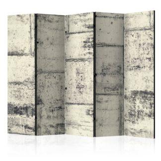 Paraván Love the Concrete Dekorhome 225x172 cm (5-dílný)
