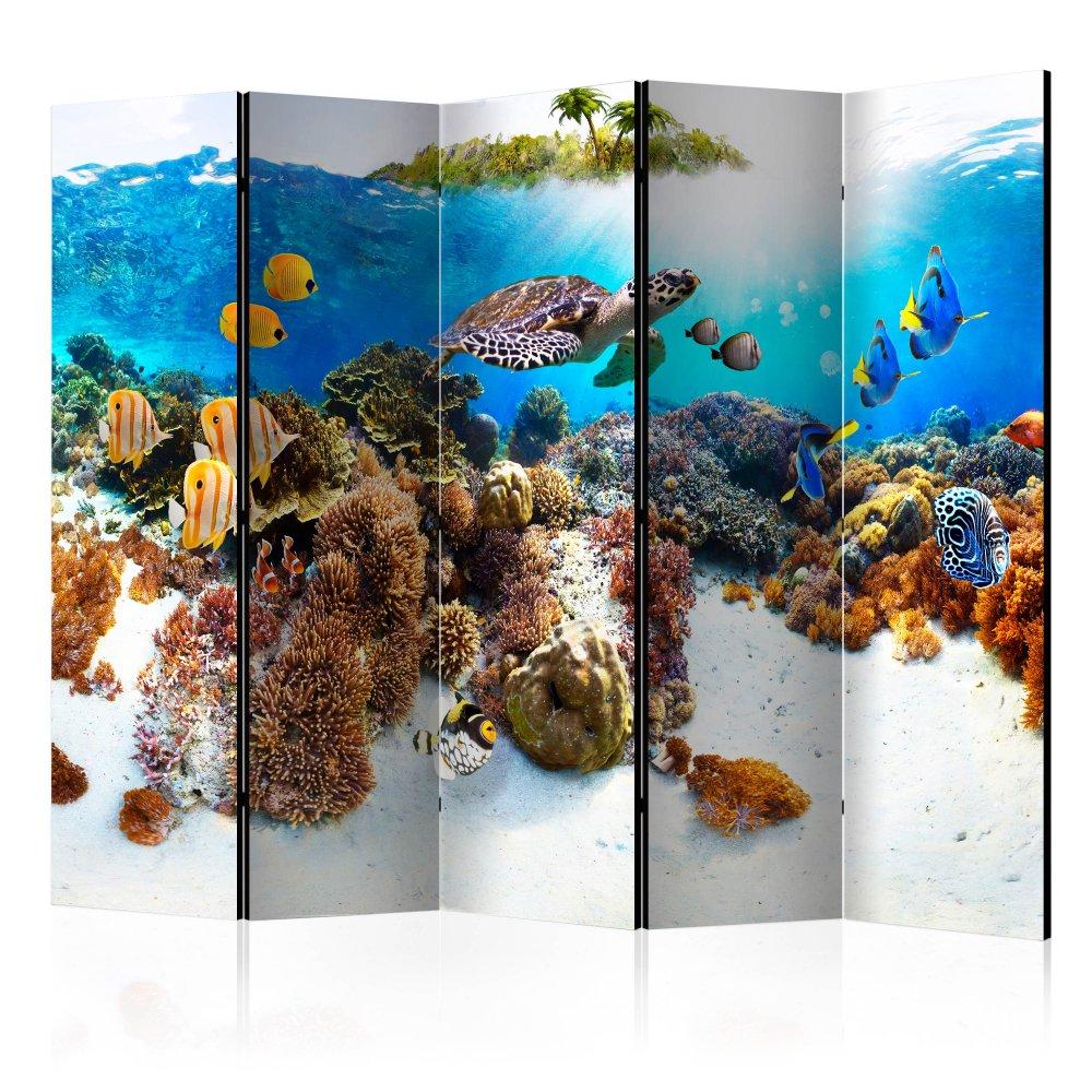 Paraván Cay Dekorhome 225x172 cm (5-dílný)