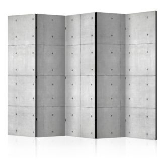 Paraván Domino Dekorhome 225x172 cm (5-dílný)