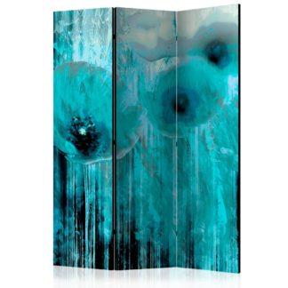 Paraván Turquoise madness Dekorhome 135x172 cm (3-dílný)