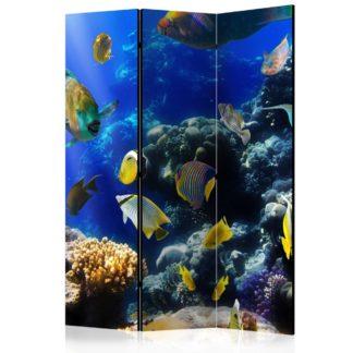 Paraván Underwater adventure Dekorhome 135x172 cm (3-dílný)