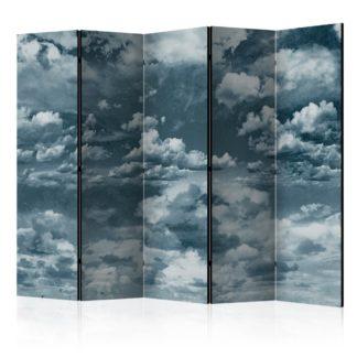 Paraván Heaven I'm in heaven... Dekorhome 225x172 cm (5-dílný)