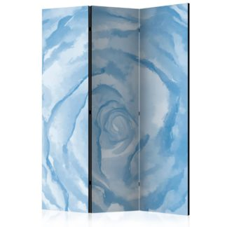 Paraván rose (blue) Dekorhome 135x172 cm (3-dílný)