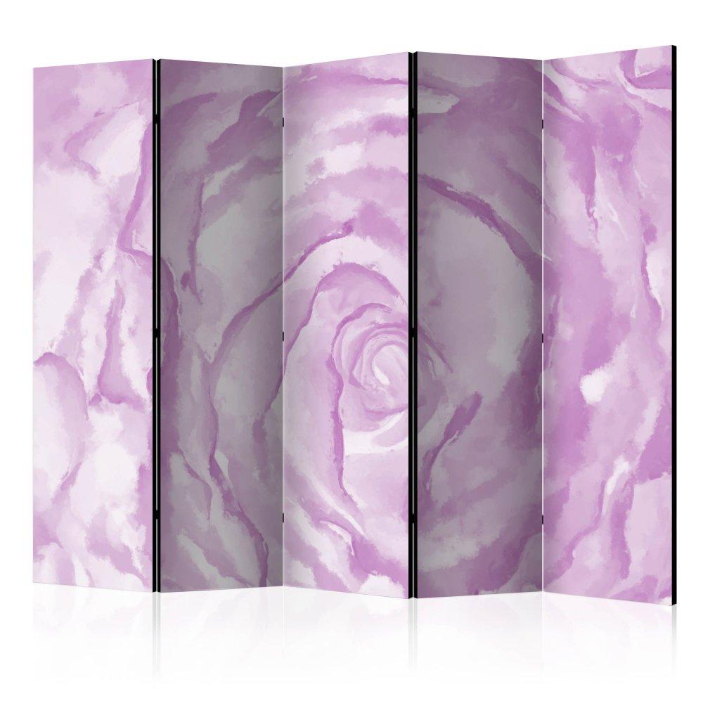 Paraván rose (pink) Dekorhome 225x172 cm (5-dílný)