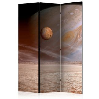 Paraván A small and a big planet Dekorhome 135x172 cm (3-dílný)
