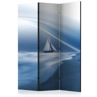 Paraván Lonely sail drifting Dekorhome 135x172 cm (3-dílný)