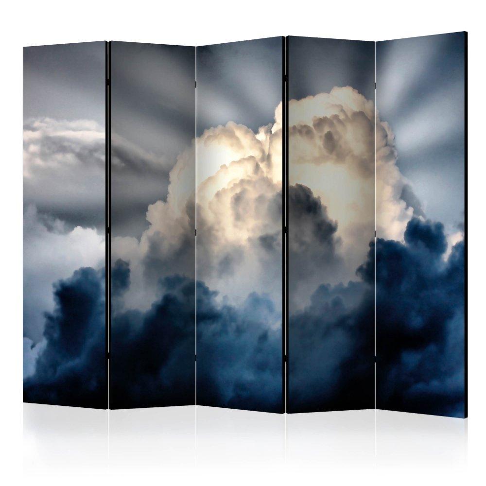 Paraván Rays in the sky Dekorhome 225x172 cm (5-dílný)