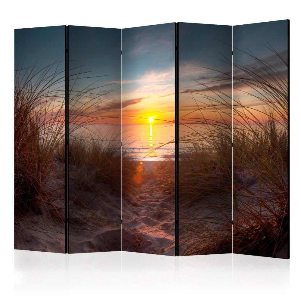 Paraván Sunset over the Atlantic Ocean Dekorhome 225x172 cm (5-dílný)
