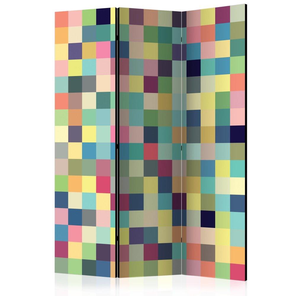 Paraván Millions of colors Dekorhome 135x172 cm (3-dílný)