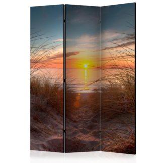 Paraván Sunset over the Atlantic Ocean Dekorhome 135x172 cm (3-dílný)