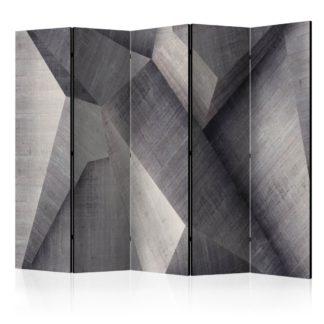 Paraván Abstract concrete blocks Dekorhome 225x172 cm (5-dílný)