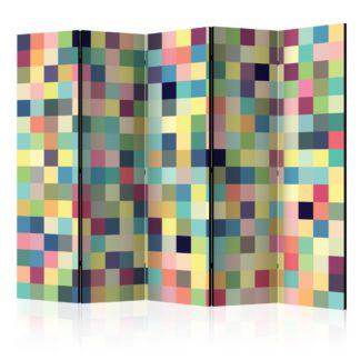 Paraván Millions of colors Dekorhome 225x172 cm (5-dílný)