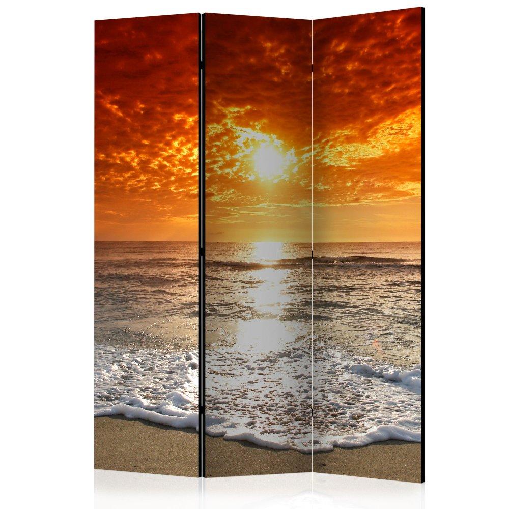 Paraván Marvelous sunset Dekorhome 135x172 cm (3-dílný)
