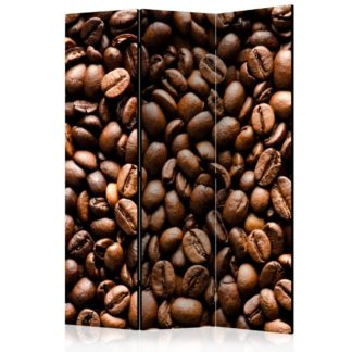 Paraván Roasted coffee beans Dekorhome 135x172 cm (3-dílný)