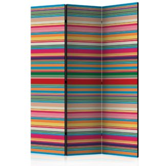Paraván Subdued stripes Dekorhome 135x172 cm (3-dílný)