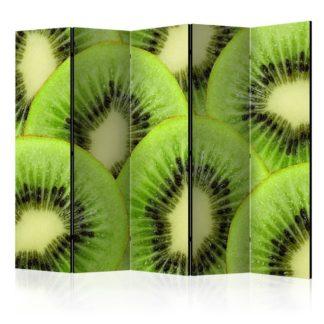 Paraván Kiwi slices Dekorhome 225x172 cm (5-dílný)