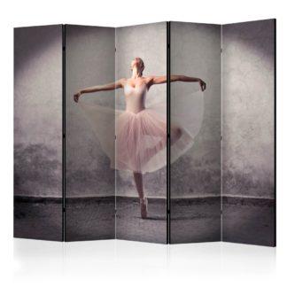 Paraván Classical dance - poetry without words Dekorhome 225x172 cm (5-dílný)
