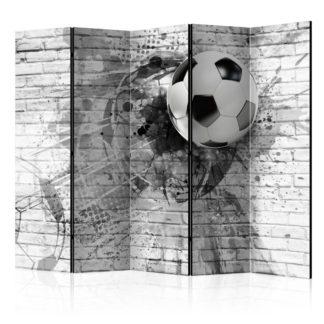 Paraván Dynamic Football Dekorhome 225x172 cm (5-dílný)
