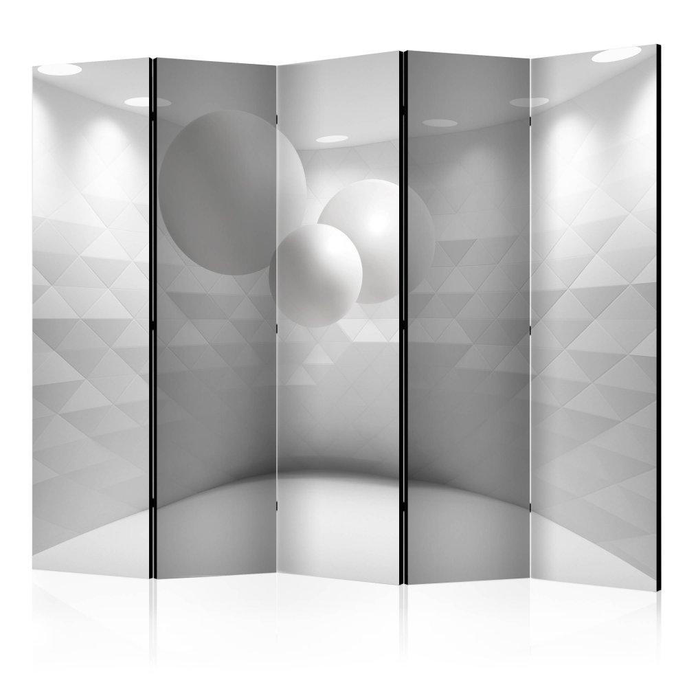 Paraván Geometric Room Dekorhome 225x172 cm (5-dílný)