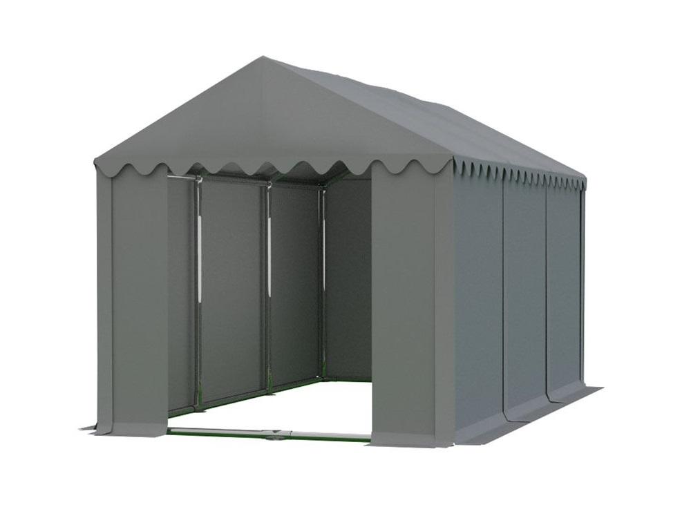 Skladový stan 4x6m PROFI Šedá