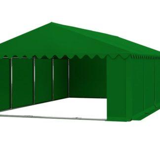 Skladový stan 5x8m PREMIUM Zelená