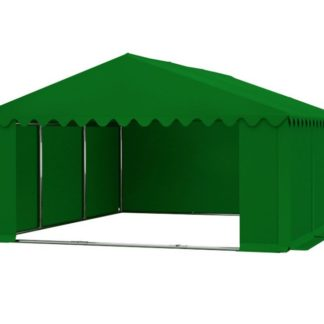 Skladový stan 5x6m zelená PREMIUM