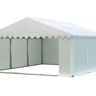 Skladový stan 6x6m bílá PREMIUM