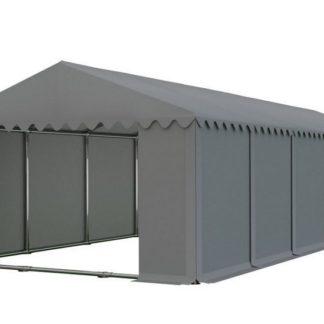 Skladový stan 6x12m šedá PROFI - nehořlavý