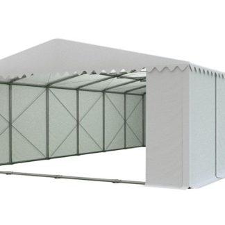 Skladový stan 8x12m PROFI - nehořlavý Bílá