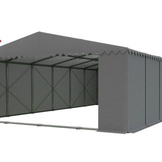 Skladový stan 8x12m PROFI - nehořlavý Šedá