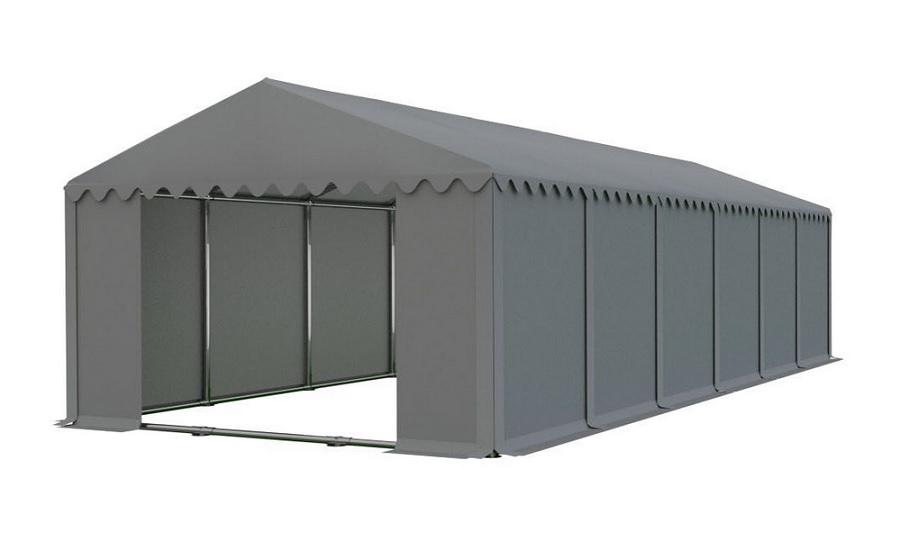 Skladový stan 6x12m šedá PROFI