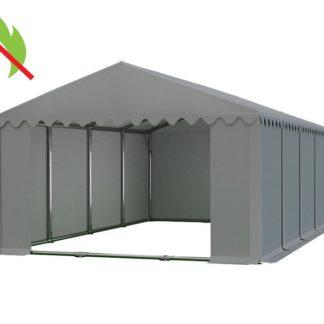 Skladový stan 6x8m PROFI - nehořlavý Šedá