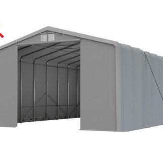 Skladová hala XXL 8x12m šedá - nehořlavá