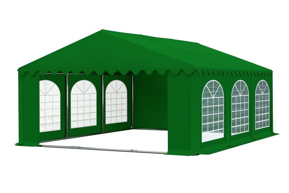 Zahradní párty stan 5x6m PREMIUM Zelená