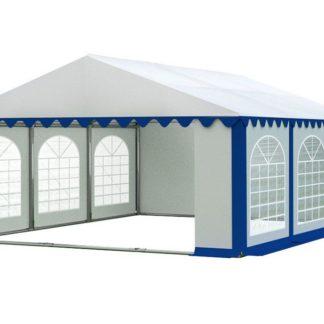 Zahradní párty stan 5x6m PREMIUM Bílá / modrá