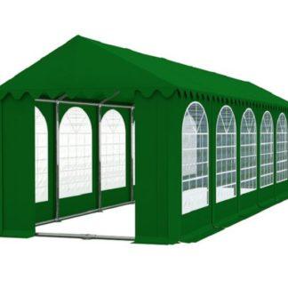 Zahradní párty stan 4x12m zelená PROFI