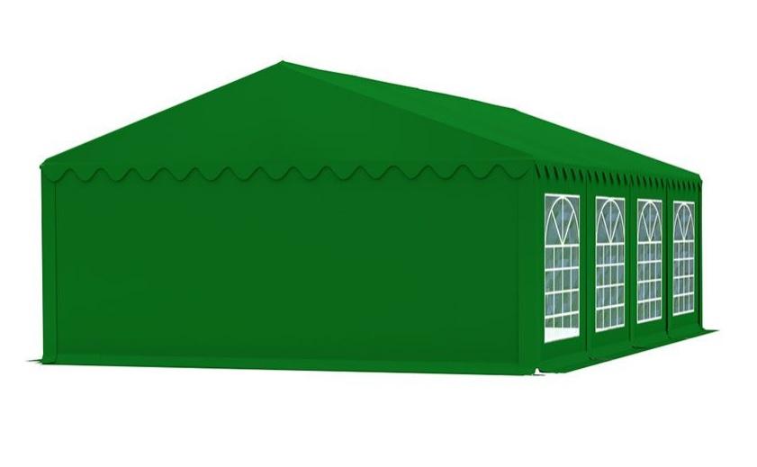 Zahradní párty stan 5x8m EKONOMY Zelená