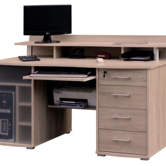 PC stůl Picasso, dub sonoma