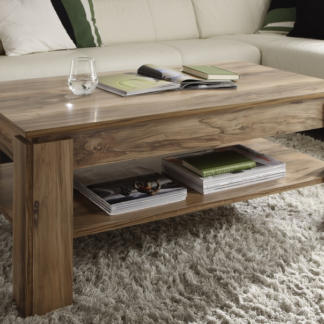 Konferenční stolek Universal 112-60, saténový ořech