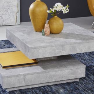Konferenční stolek Universal 119, šedý beton