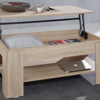 Výklopný konferenční stolek Universal 139, dub sonoma