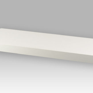 Nástěnná polička P-001 WT2, 60 cm, barva bílá