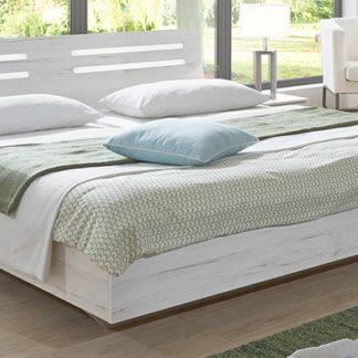 SUSAN, postel 180x200 cm, bílý dub